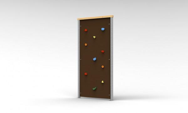 Free-Climbing-Wand, Einfache Wand, einseitig