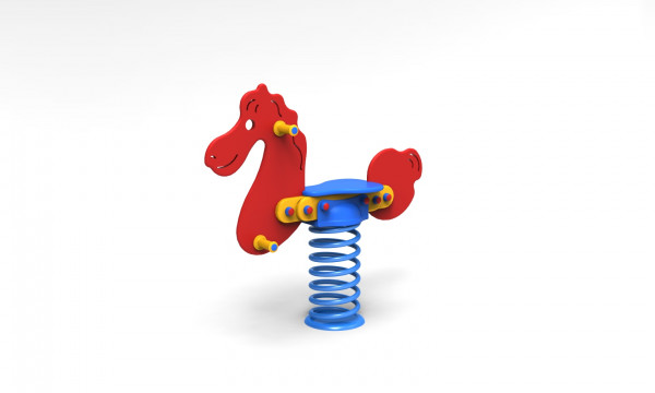 Feder-Pony aus PE-Platten