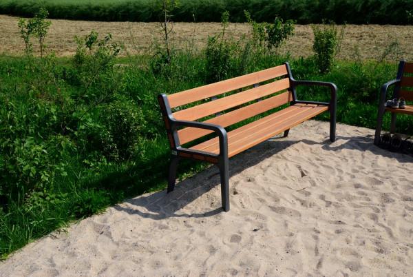 """3-Sitzer-Bank """"Lohr"""" mit Lehne"""