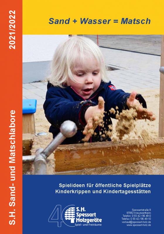 S.H. Spessart Holzgeräte Sand- und Matschlabore 2021/22
