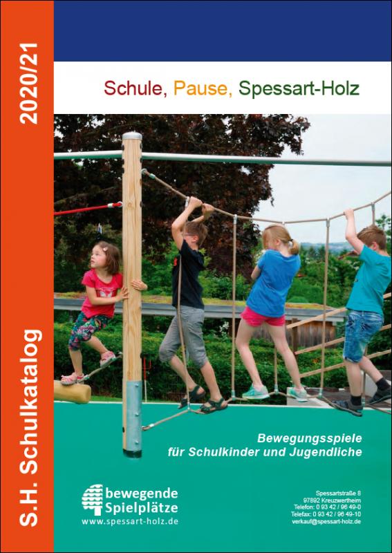 S.H. Spessart Holzgeräte Schulkatalog 2020/21