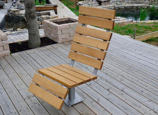 Outdoor-Drehsessel, Breite 55 cm