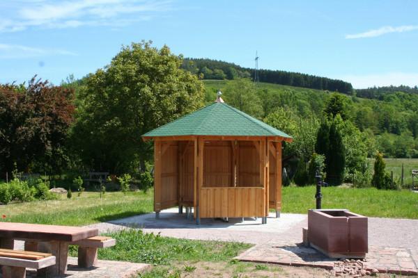 Sechseckpavillon D=400 cm