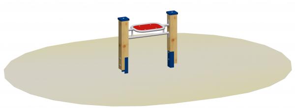 Sandspieltheke 57 mit Standpfosten