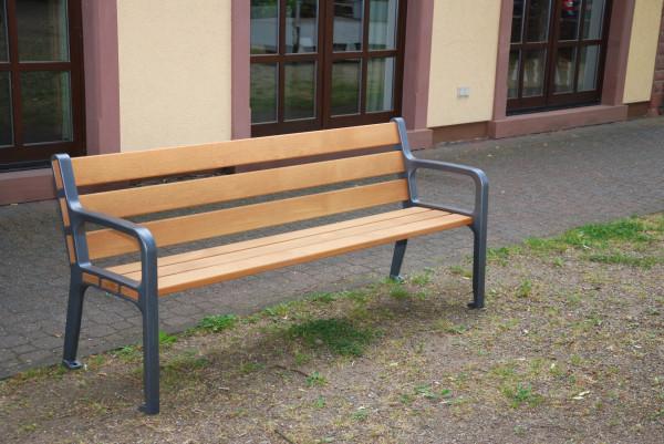 """2-Sitzer-Bank """"Lohr"""" mit Lehne"""