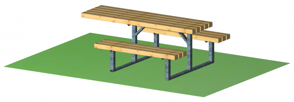 Kompakt-Sitzgruppe - integrativ