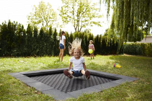 Einbautrampolin Playground