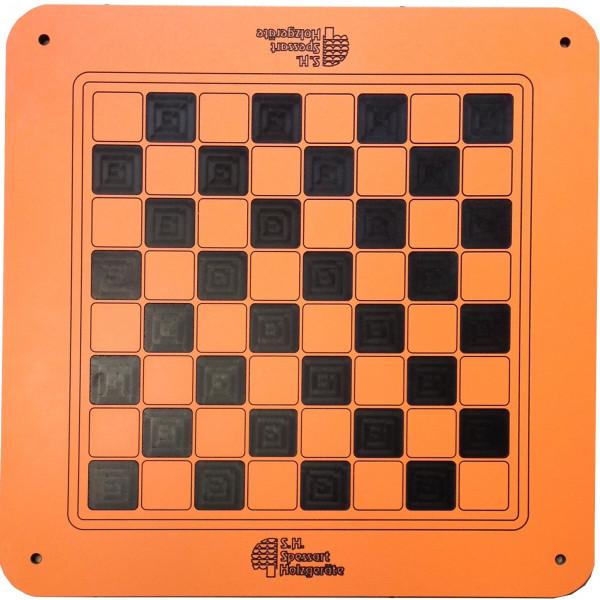 Spielbrett Schach / Dame